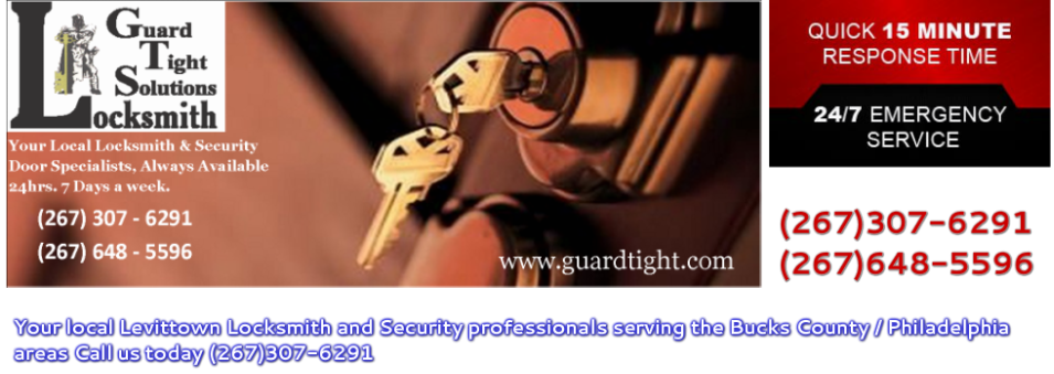 Guard Tight Solutions Locksmith | Top Rated Bucks County Locksmith | (267) 307-6291 | 24 hours